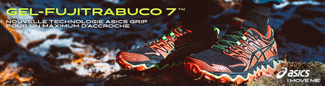 Nouvelles Asics Gel-Fuji Trabuco 7 - Chaussure de Trail