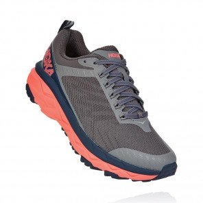 HOKA CHALLENGER ATR 5 FEMME | Charcoal Gray / Fusion Coral