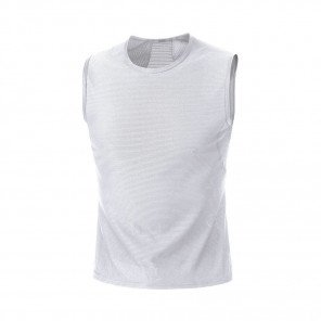 GORE® BASE LAYER DÉBARDEUR HOMME | WHITE | Collection Printemps-Été 2019