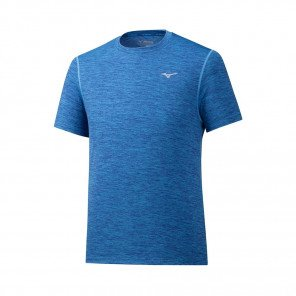 MIZUNO Tee-Shirt manches courtes IMPULSE CORE Homme | Mazarine Blue | Collection Printemps-Été 2019