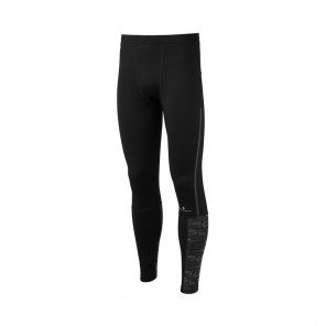 RONHILL Collant Momentum Afterlight Homme  Black Reflect